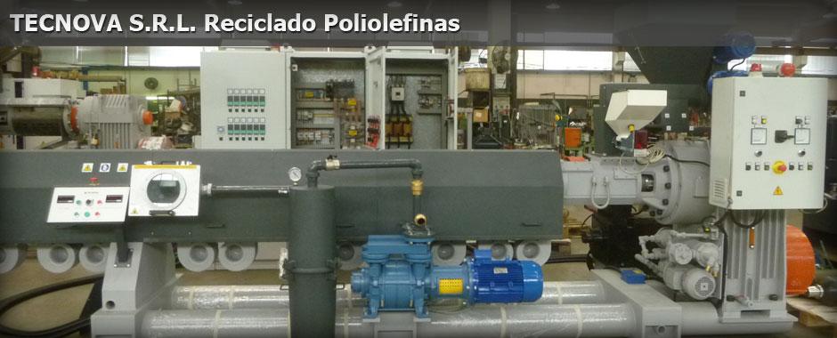 TECNOVA s.r.l. Reciclado Poliolefinas